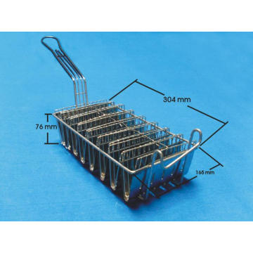 Taco Shell Fry Basket Fryer Accessory